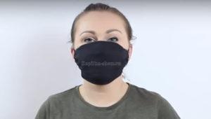 многоразовая маска своими руками