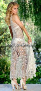 Платье Перис Хилтон схема вязания