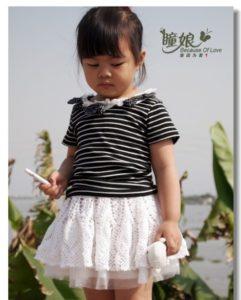 вязание юбки для девочки