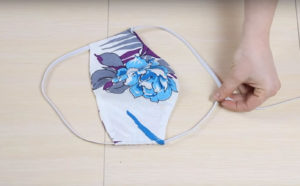 маска медицинская своими руками из ткани выкройки