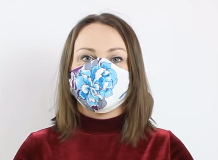 маска медицинская сшить из ткани выкройка