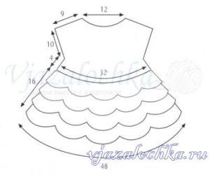 костюм для новорожденной девочки крючком