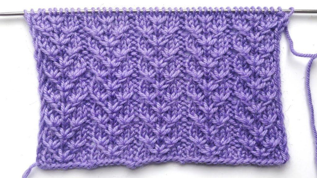 вязание спицами узоры