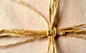 плетение корзин из шпагата