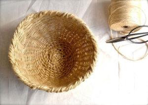 плетеные корзины +своими руками +из шпагата