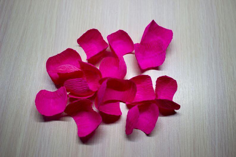 цветы +из гофробумаги +своими руками