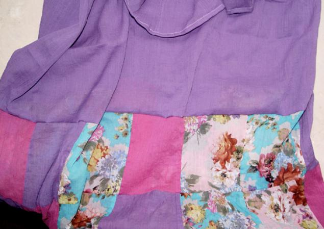 летняя юбка бохо