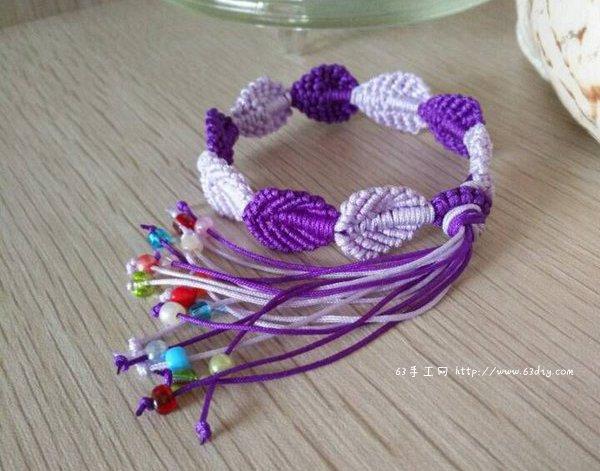 +как сделать браслет +из ниток +своими руками