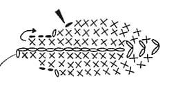 панамка крючком +для девочки схема +и описание