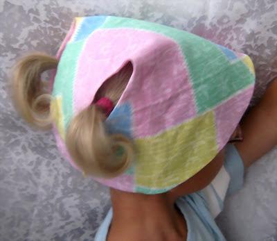 выкройка детской панамки