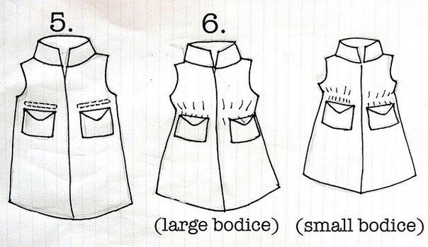 платье +из папиной рубашки девочкам