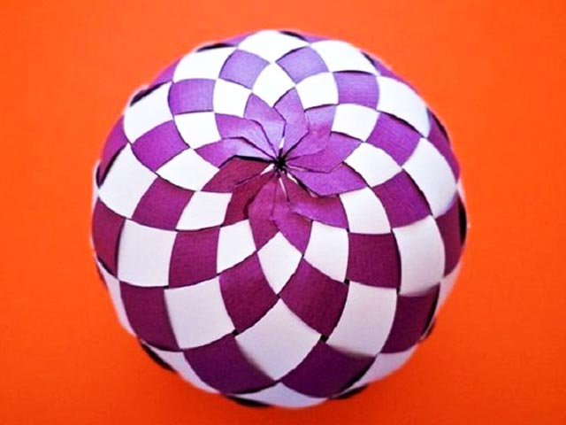 шаблон +для воздушного шара +из бумаги
