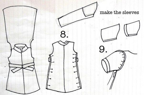 платье +из мужской рубашки