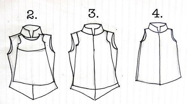 из рубашки сделать платье для девочки