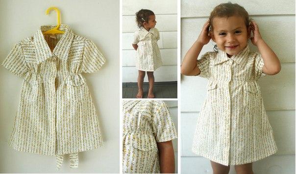 одинаковые платья +и рубашки