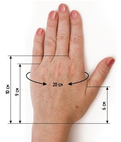перчатки спицами описание