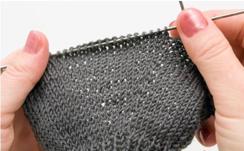 перчатки спицами женские