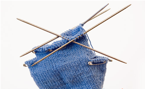 как связать перчатки спицами +для начинающих