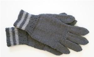 перчатки спицами видео +для начинающих