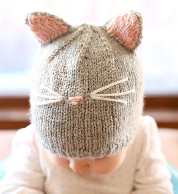 вязаные детские шапочки