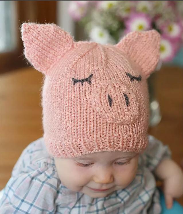 детская шапочка связанная спицами