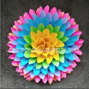 украшения +из цветной бумаги