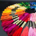 вышивание нитками мулине