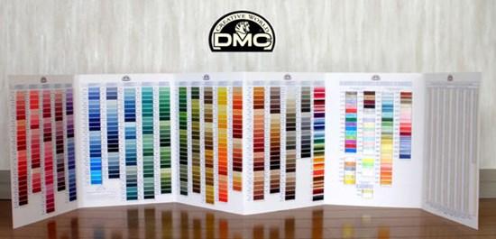 нитки dmc таблица цветов
