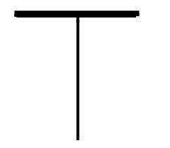 столбик с накидом обозначение