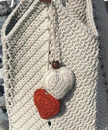 сумки вязанные крючком