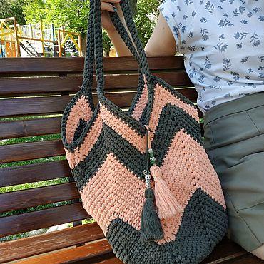 сумки крючком фото